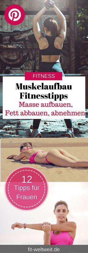Muskelaufbau und Fettabbau? Hier erfahren Sie Fitness- und Ernährungstipps, die Sie schnell an Ihr Ziel bringen. #Muskelaufbau #Ernährungsplan #fettabbau #abnehmen