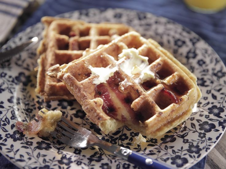 Bacon Waffles recipe from Trisha Yearwood via Food Network