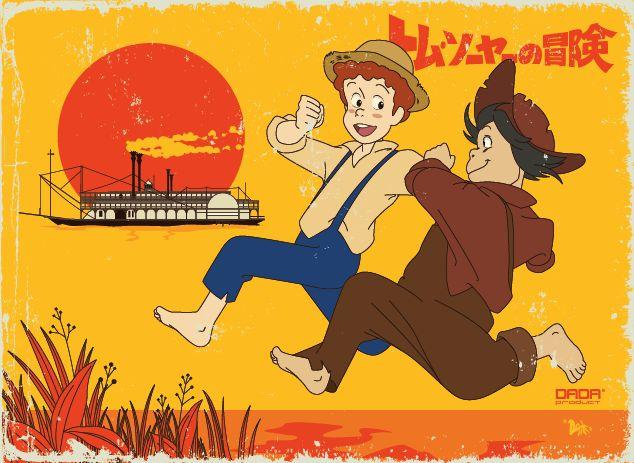 Tom Sawyer & Huckleberry Finn -1982