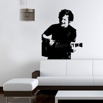 Ed Sheeran Portrait decalcomania della parete del vinile G Direct http://www.amazon.it/dp/B00B3RIAJW/ref=cm_sw_r_pi_dp_M-J2tb0QYG2800KX