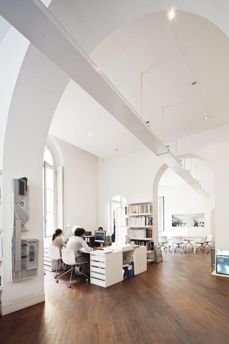 ANDREA MAFFEI ARCHITECTS STUDIO in Brera, Milan - Photo credits: Marco Covi