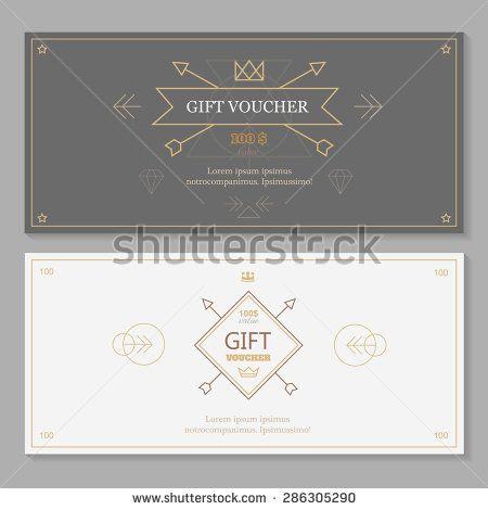 13 best Gift voucher images on Pinterest Image vector, Design - examples of gift vouchers