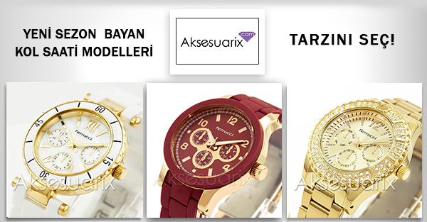 Gün içinde hareket halindeyken rahat olmak,özel geceler de altın,gümüş ve taşlı detaylarla farkedilmek sizin elinizde.. Yeni sezon Ferrucci , Daniel Klein ve Vegans bayan saat modelleri aksesuarix.com 'da