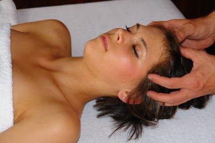 Masaż głowy - relaks  i ukojenie nerwów.