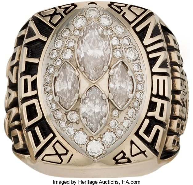 Football Collectibles:Others, 1989 San Francisco 49ers Super Bowl XXIV NFL Championship ...