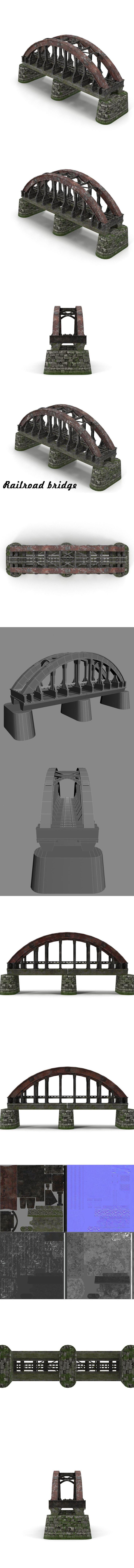 Railroad bridge #railroad #bridge