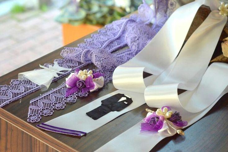 Dantelli takı kurdelesi  #takikurdelesi  #dantellitakikurdelesi www.gelinbuketleri.com