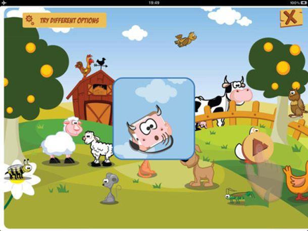 APP PER BAMBINI - Animals Shake: scuoti, divertiti e impara! http://www.piccolini.it/tips/666/animals-shake-scuoti-divertiti-impara/