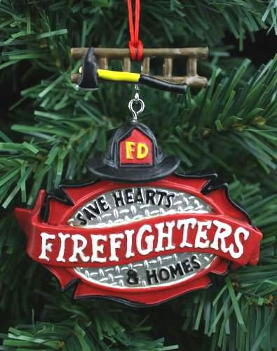 Fireman Christmas Lights