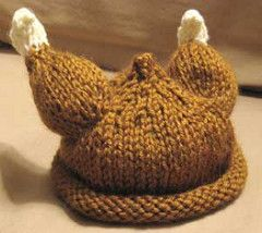 FREE KNIT BABY TURKEY HAT PATTERN