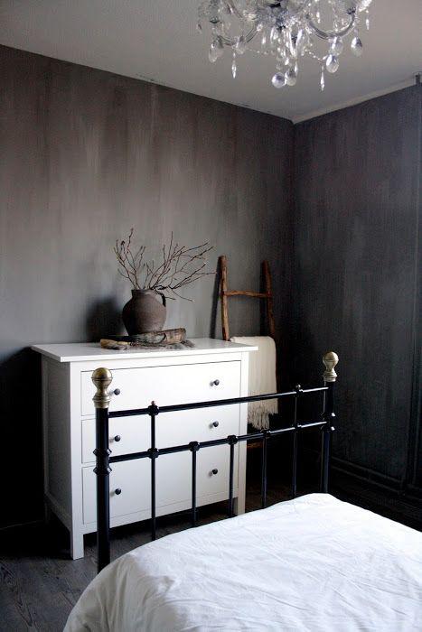 Mooie grijs tint voor op de slaapkamer.