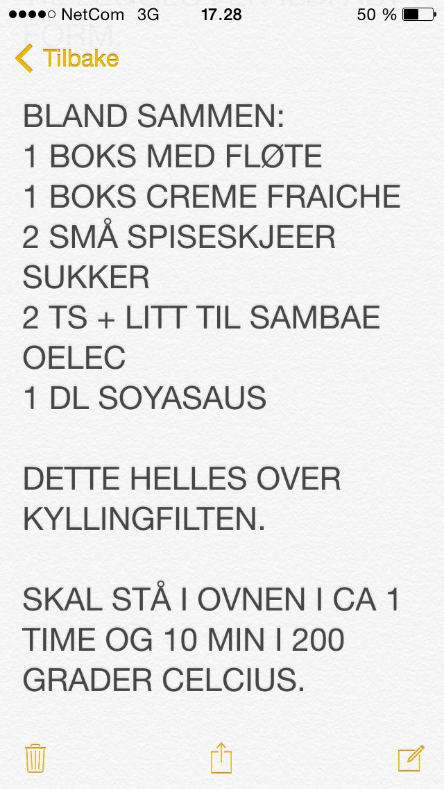 Kyllingfilet Sambae Oelac