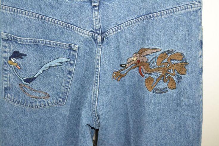 History Iceberg Jeans Roadrunner/Wylie E. Coyote Italy 36 x 34  #HistoryIceberg…