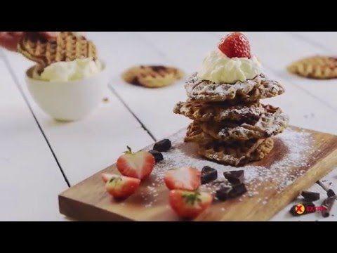 Cookies med sjokolade i vaffeljern på 10 minutter | EXTRA -