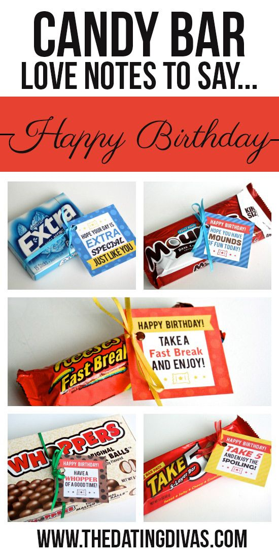 Clever Candy Sayings for {almost} Every Occasion ...