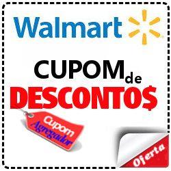 Cupom de desconto Walmart