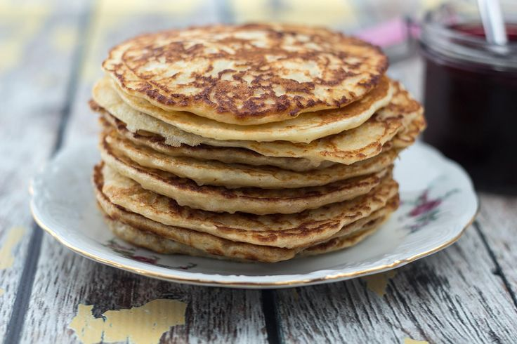 Recipe for Homemade Danish Rice Pudding Pancakes (Klatkager)