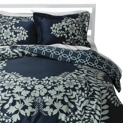 Room 365 Placed Graphic Floral Duvet Cover Set