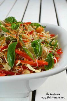 Fragrant Cambodian Noodle Salad