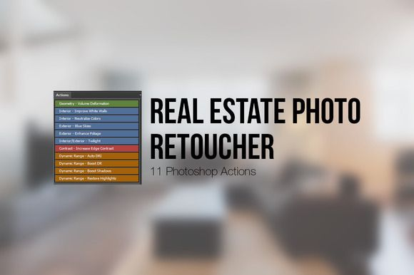 Real Estate Photo Retoucher by SparkleStock on @creativemarket