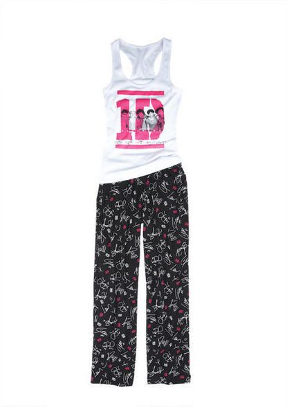 official 1D pajamas!! love the pants the most because they have all their signatures on them!!!!