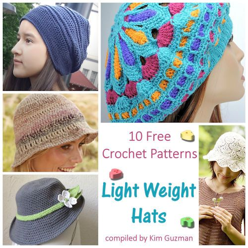 Monday Link Blast: Light Weight Hats