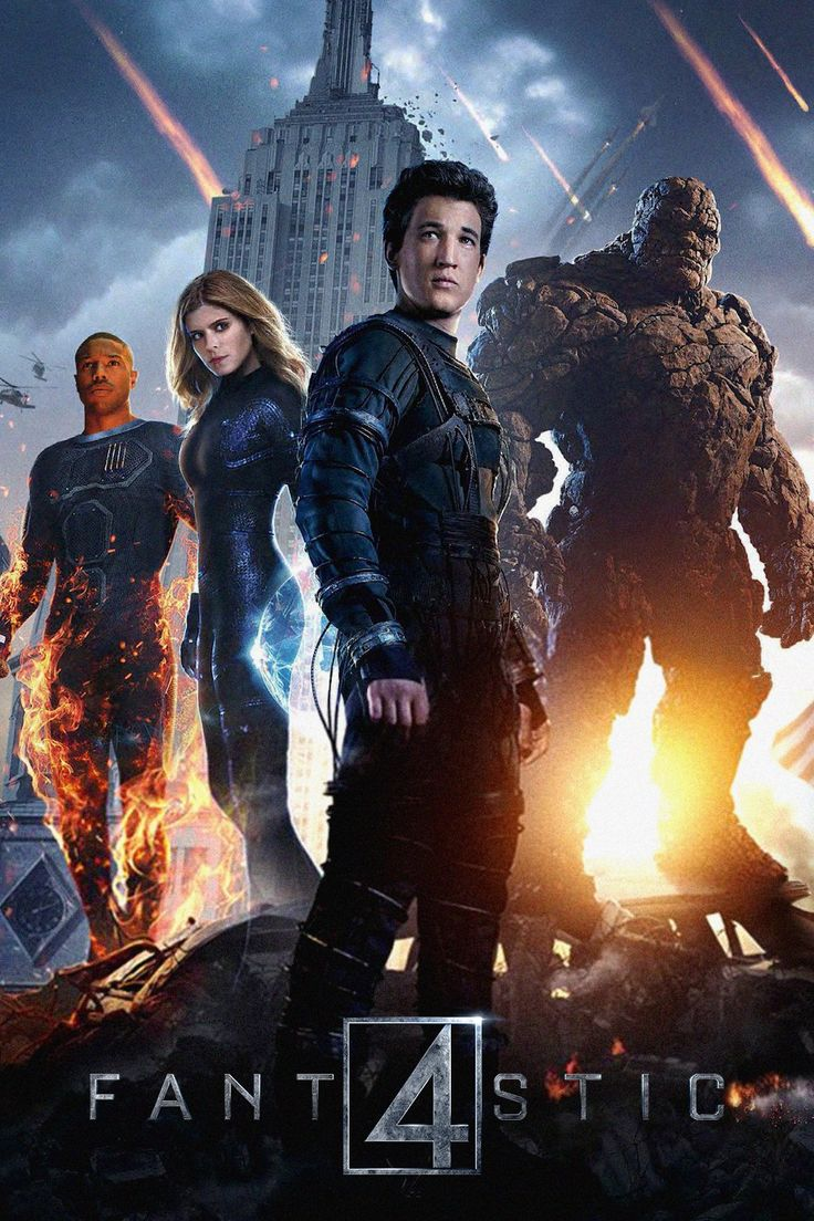 Fantastic Four (2015) — Uppdrag: Rädda mänskligheten