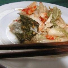 Kimchi - koreai saláta