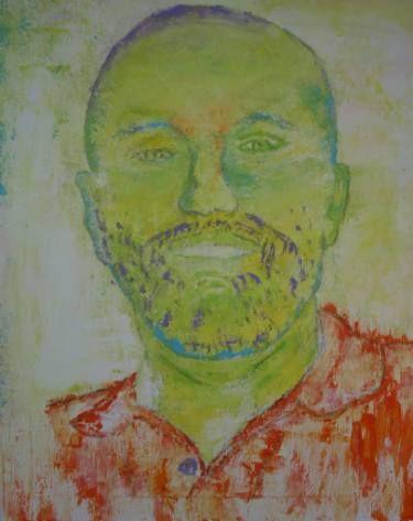 "Saatchi Art Artist Crina Iancau; Painting, ""In Shades Of Yellow"" #art"