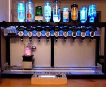 The Inebriator Bartending Robot...there will be lots of organizations and boys with big bucks wanting these toys for their buddies parties and get togethers...at the country club, home, lodge, sorority, fraternities, businesses etc..... events, openings, etc....  I can see someone renting this out for events for college parties social benefits ....this will be popular!