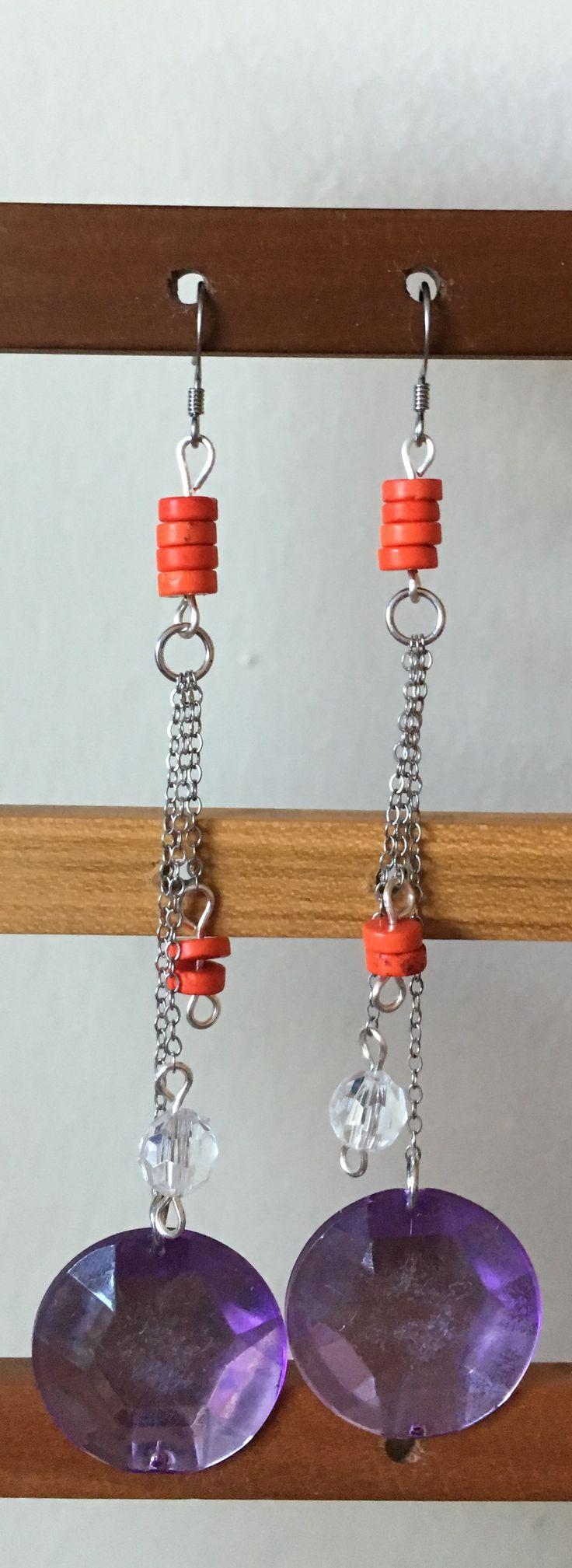 Dainty wow earrings by MaxAna x