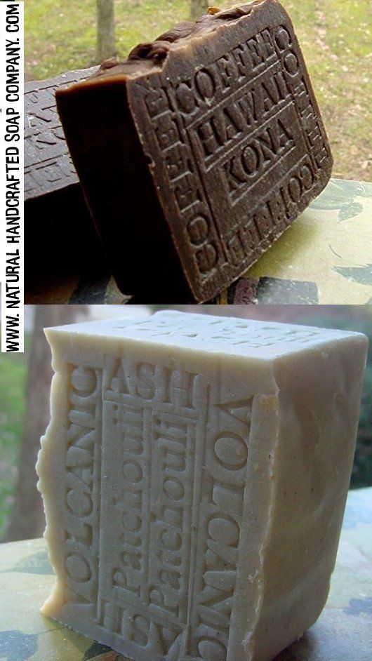 Hawaii Volcanic ash and Hawaii Kona coffee Soap  | Hawaii