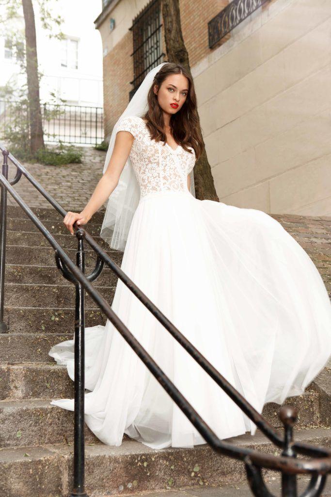 Robe Finesse In 2020 Boho Wedding Dress Wedding Dresses Boho
