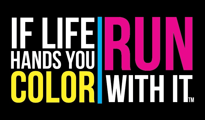 The Color Run The Happiest 5k On The Planet Color Run Color Quotes Color