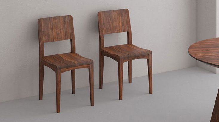 Solid wood chair INTUS