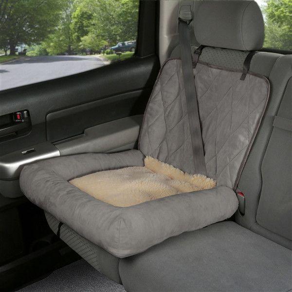 Car Cuddler - Small (brown or grey) pet seat cover #111605