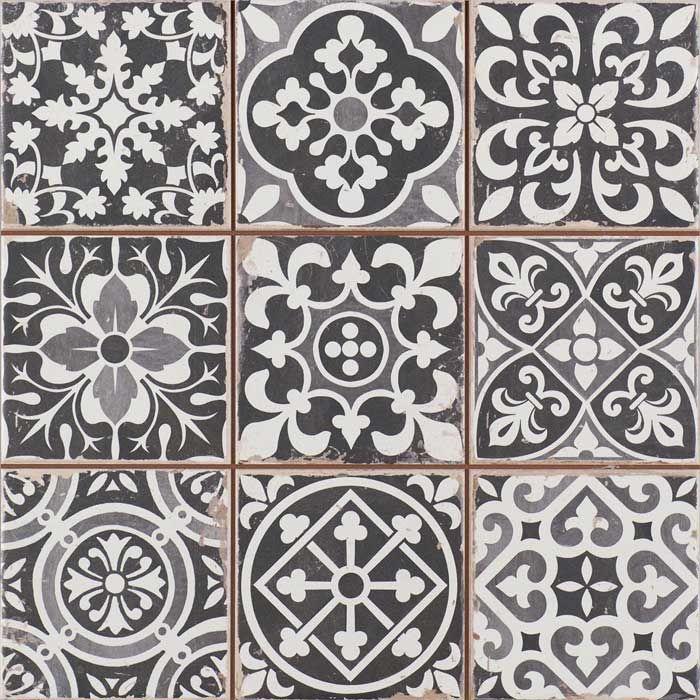 Cenefa cerámica en pasta roja tradicional de la colección FS by PERONDA CERÁMICAS.