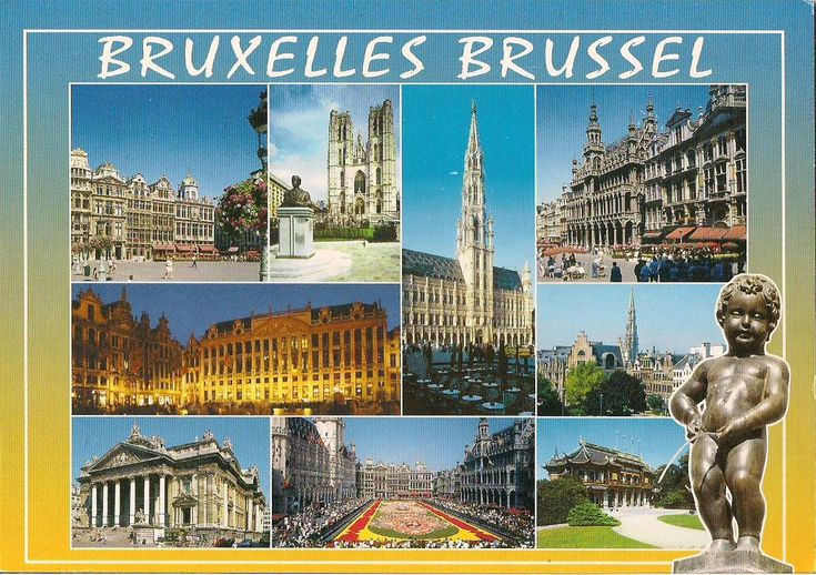 BELGIUM - La Grand-Place, Brussels