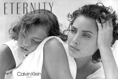 Eternity Calvin Klein perfume - a fragrance for women 1988