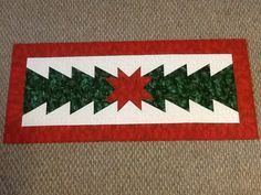 quilted table runner patterns free easy   ... Quilt Co. for some quick and easy table runners. I did this one this