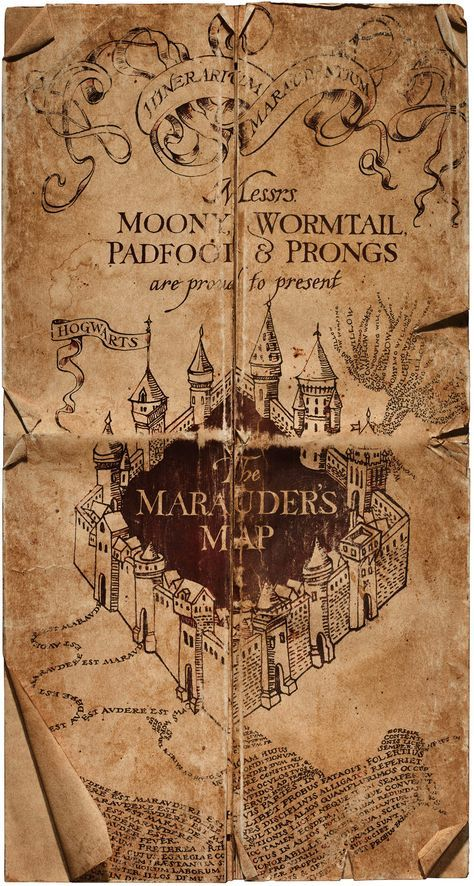 Marauder's Map Mischief managed