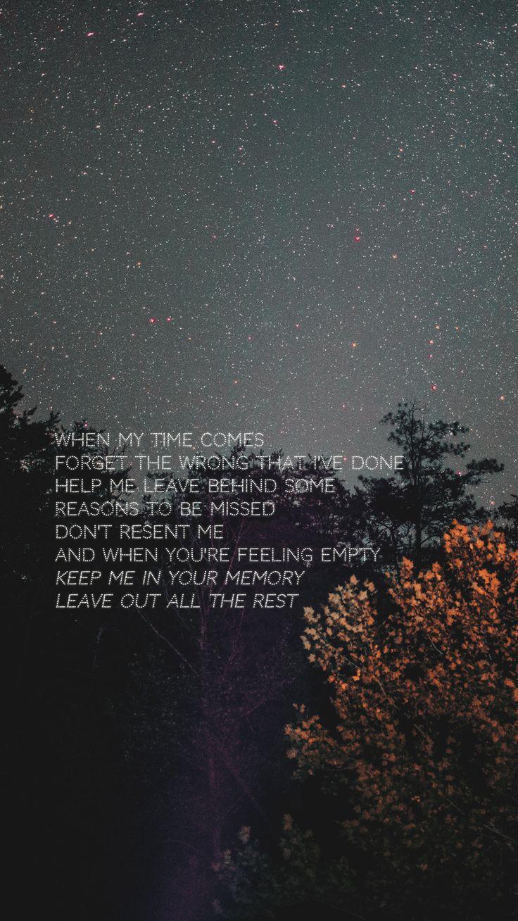 My Lockscreens – Linkin Park This is my favorite s…