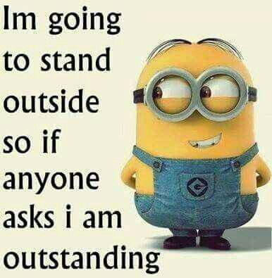 Minion! You are too much!