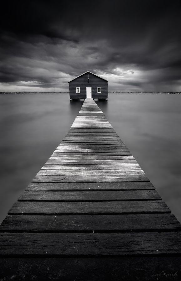 Crawley Boatshed by Leah Kennedy, via 500px