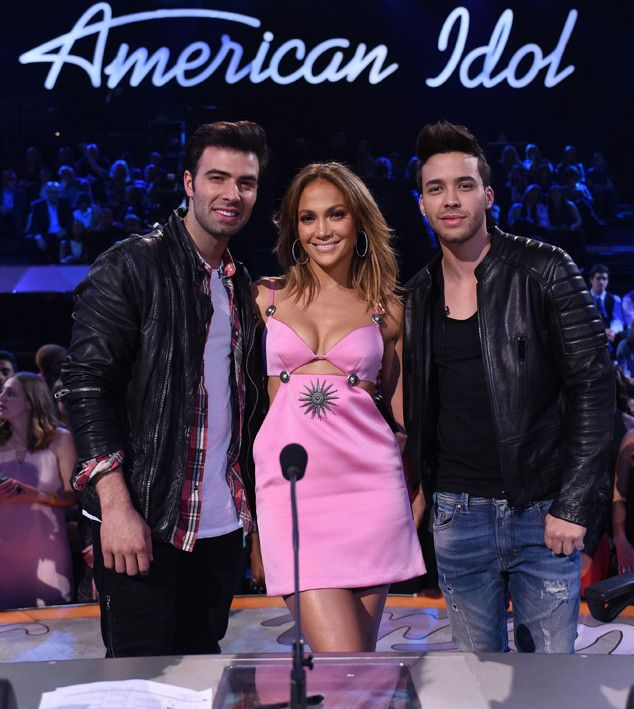 Jennifer Lopez Stuns With Jencarlos Canela & Prince Royce at American Idol?Details From Their Live Musical! | E! Online Mobile