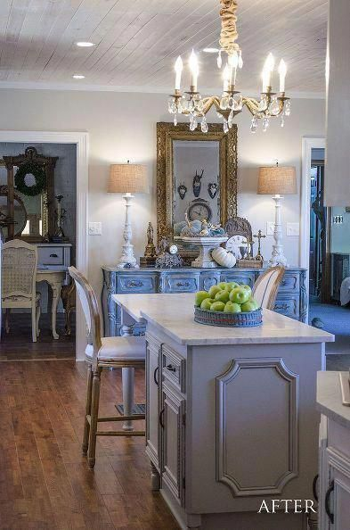 diy:: french country glam cottage kitchen renovation on a budget