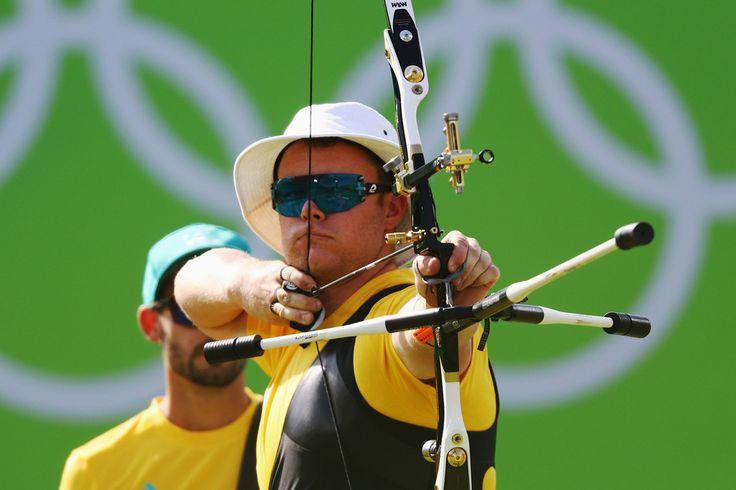 Day 1: Archery Men's Team - Ryan Tyack of Team Australia