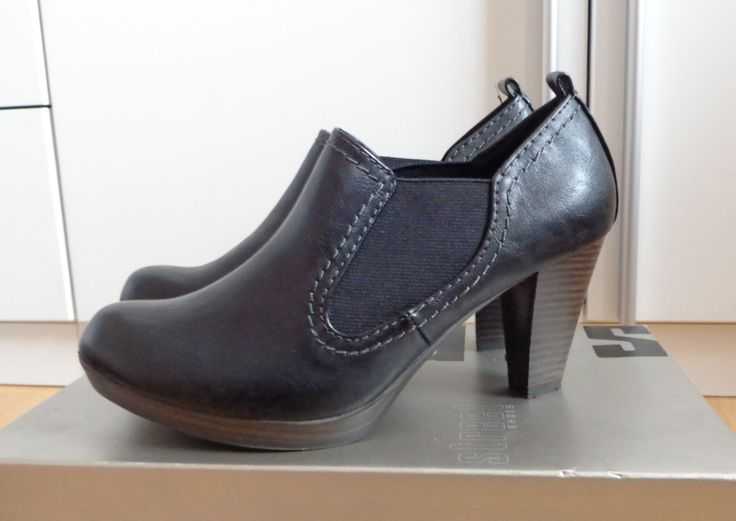 STREET schwarze Ankle Boots