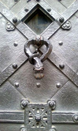 Wonderful door in Prague