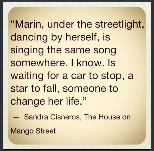 my name by sandra cisneros essay Gender roles in house on mango street the house on mango street gender roles in the house on mango street in the house on mango street by sandra cisneros, the men and boys are the dominant forces.